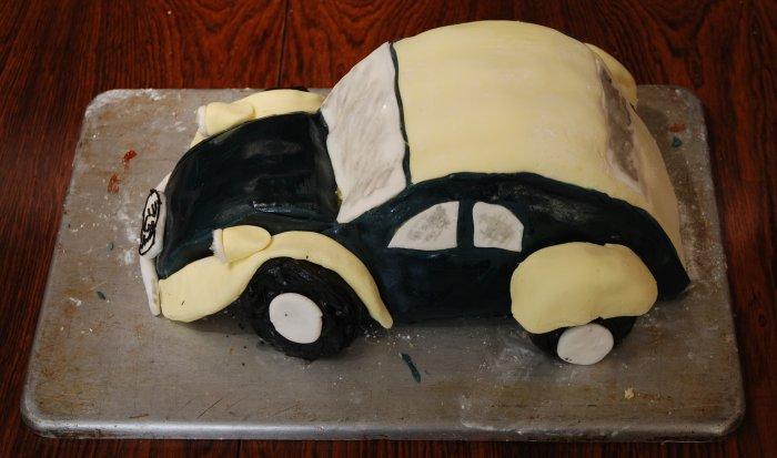 2cv Birthday Cake