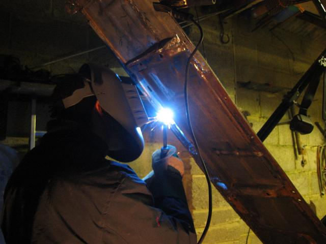 Ross welding on the edge
