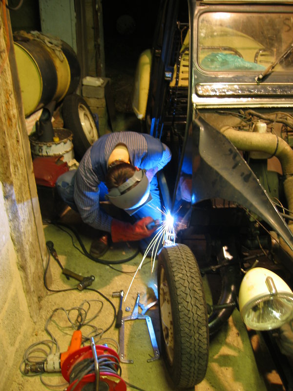 last bit of welding
