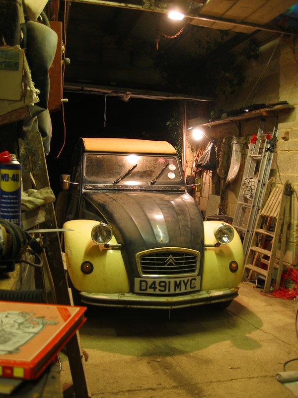 a car again
