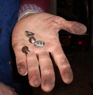 the offending screws